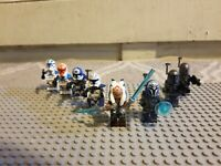 Lot of 8 Death Watch and Clones With Bo Katan Ashoka Clone Commanders US Shipper