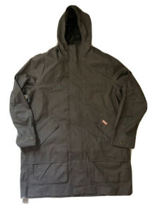 Hunter Boots Original Cotton Hunting Coat Sz XXL  Jacket Men's Dark Slate $250
