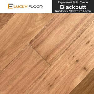 14mm Blackbutt Engineered Flooring Hardwood Timber Flooring Floating Floorboard