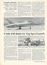 F-100 FIGHTER JET SCRAMBLE VIETNAM WAR PAINTING US HISTORY ART REAL CANVAS PRINT