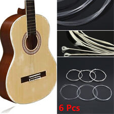 6 Pcs Acoustic Guitar Nylon Strings Wound Clear Gauge Set for Classic Guitar New