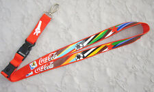 COCA Cola FIFA World Cup South Africa 2012 chiave a nastro Lanyard Nuovo (t249)