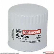 Set of 4 FL-820S Motorcraft Engine Oil Filter Lincoln Continental 1995-2002