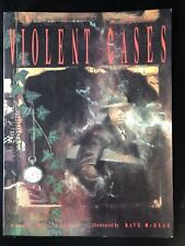 Violent Cases - Neil Gaiman Dave McKean 1991 Tundra Comics 1st Ed. Graphic Novel