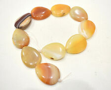 Beads Apricot Agate Large Beads 40mm