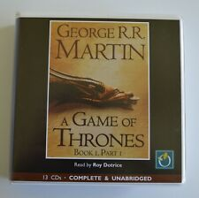 A Game of Thrones, Book 1, Part 1: George R.R. Martin - Audio Book - 13CDs