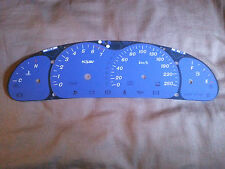 VT VX Holden Commodore 250kmh HSV Blue Dial Dash Fascia suits SS WH & VU Ute
