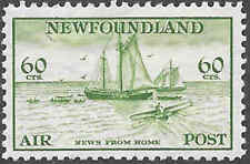 Newfoundland Airmail Stamp Scott Number C16 FVF HR