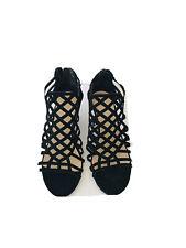 Jasmine Lasers Cutoff wedge Sandals Size 8.1/2 M