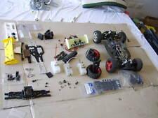 Auto Radiocomandata SCOPPIO 1:8 Completa FLASH CHRONO Usata + Ricambi KYOSHO Kit