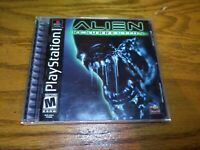 Alien Resurrection (Sony PlayStation 1, 2000) Complete CIB PS1 Black Label MINT!