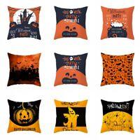 Halloween Thanksgiving Pumpkin Cushion Cover Throw Pillows Case Sofa Home Decors