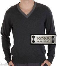 NWT Hugo Boss Black Label By Hugo Boss Cotton-Wool Lightweight Sweater Size L