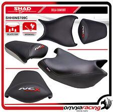 Shad Sella Confort Nera con Cuciture Rosse per Honda NC700X 12 > - NC750X 14>