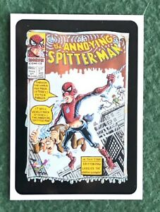 Wacky Packages Promo Card The Annoying Spitter-Man San Diego Comic Con 2005 SDCC
