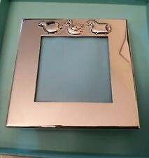 New ListingVintgage Tiffany & Co. Baby Picture Frame - Duck, Pig & Sheep - Sterling Silver!