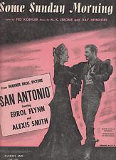 """Algunos domingos mañana de la imagen """"San Antonio"""" - 1945 De Partituras"""