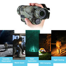 Infrared Night Vision 5X40 Monocular Binoculars Telescopes f. Hunting Bird Watch