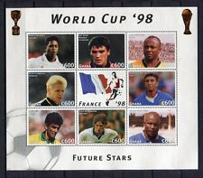 s7197) GAMBIA 1997 MNH** WC Football'98 - CM Calcio S/S