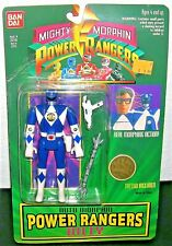 1994 Mighty Morphin BLUE POWER RANGERS ACTION FIGURE Billy Bandai Sealed # 2310