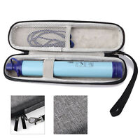 LifeStraw Personal Water Filter for Hiking Camping Travel Carrying Case Bag  New