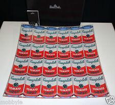 Rosenthal Warhol Campbell's weiß/rot Schale 35 cm quadr. Neu & Ovp 1.Wahl