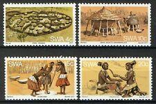 South West Africa 1977, Native tribe life, full set VF MNH, Mi 431-34