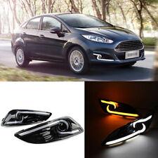 For Ford Fiesta 2013-2016 Car LED Daytime Running Light DRL Driving Fog lamp
