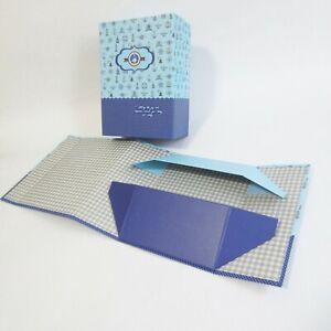 5x Magnetic Closure Folding Flat Fathers Day Xmas Box Space Saving Hamper Boxes