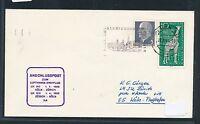 80738) LH FF Köln - Zürich Schweiz 1.4.65, Brief ab Dresden DDR