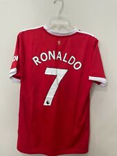 #7 Ronaldo Manchester United  2021-2022 Home Football Jersey Men's Soccer Shirt