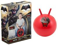Batman Vs Superman Space Hopper Ball Inflatable Jumping Bouncing Kids Outdoor To