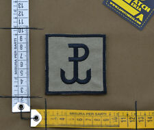 "Ricamata / Embroidered Patch ""Grom"" Coyote Tan with VELCRO® brand hook"