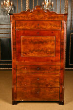 Original Late Biedermeier Secretary Writing Furniture Bureau Um 1845-50
