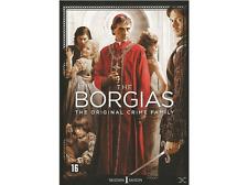 DVD  -  THE BORGIAS - SEIZOEN  - 1  THE ORIGINAL CRIME FAMILY  (NEW SEALED)