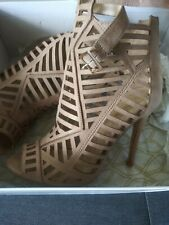 Hope's Chest: Cut-Out Nude Sandal