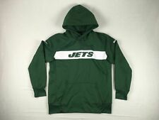 Nike New York Jets - Men's Green Poly Sweatshirt (L) - Used