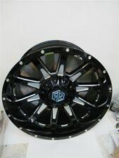 Road Rage R2-2215053B, 22 x 10 Hana Style Rim, Black