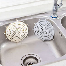 Kitchen Silicone Spider Web Bathroom Sucker Floor Strainer Drains Sink Filter