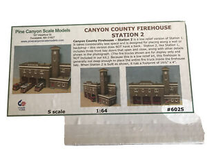Pine Canyon Fire Station # 2 602S