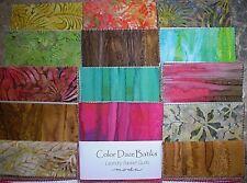 MODA Charm Pack - Color Daze Batiks
