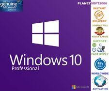 Authentic Windows 10 PRO 32 & 64 Bit LIFETIME License Key - Instant Delivery