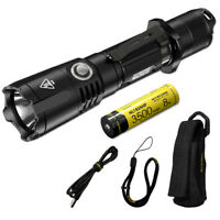 NITECORE MH25GTS 1800 Lumen Rechargeable Tactical Flashlight & Battery