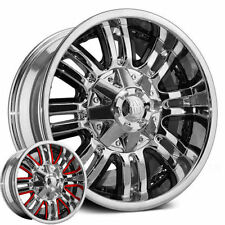 18x9 Mayhem Assault Wheels Rims -12 5x5.5 6x5.5 Chevy Ram Trucks F150