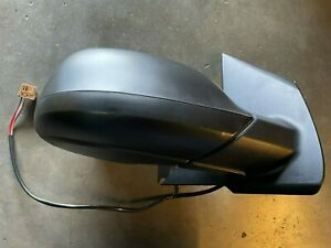 Vw Transporter T6 2015-2020 Door Wing Mirror E/H Black Cover Driver Side Right