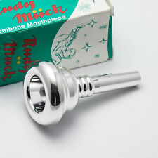 Genuine Rudy Muck 21 Silver Small Shank Trombone Mouthpiece NEW
