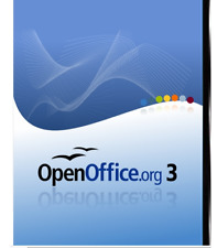 Open Office Suite, Professional , Alternative to Office Word Excel ( DVD )