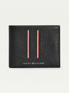 Tommy Hilfiger Downtown credit card Slim Mini Wallet Pebbled Leather