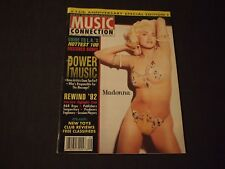 Rare MADONNA MUSIC CONNECTION Magazine 1993 Jan SCARCE Collectible 15th Annivers