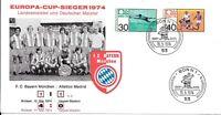 CLB147) Nice W. Germany 1974 Card Bayern Munich F.C